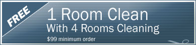 Cleaning Coupons | 1 room cleaning free with with 4 rooms cleaning | Tri-State Carpets