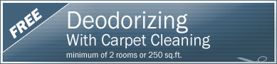 Cleaning Coupons | Free deodorising with carpet cleaning | Tri-State Carpets