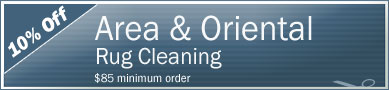 Cleaning Coupons | 10% off area rug cleaning | Tri-State Carpets