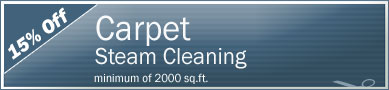 Cleaning Coupons | 15% off carpet steam cleaning | Tri-State Carpets